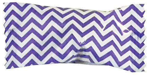 (Party Sweets Chevron Purple Buttermints by Hospitality Mints, Appx 300 mints, 7-Ounce Bags (Pack of)