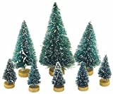 Factory Direct Craft Assorted Size Mini Sisal Trees 32 Pcs (4 Packages of 8)
