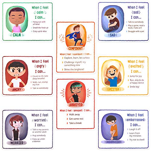 How I'm Feeling Classroom Posters Set (8-Pack) 17