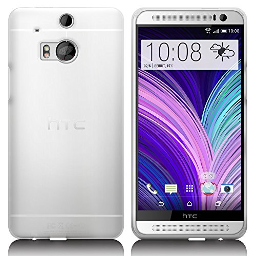 Cotechs 2014 Htc One M8 Flagship Frost White Gel Case Skin Tpu Cover ()