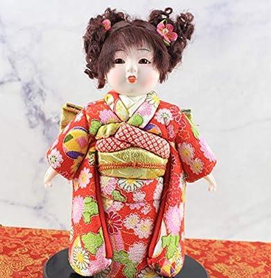 Heartrace 24cm Handmade Doll Japanese Hina Ninsha Doll gofun Ichimatsu Girl