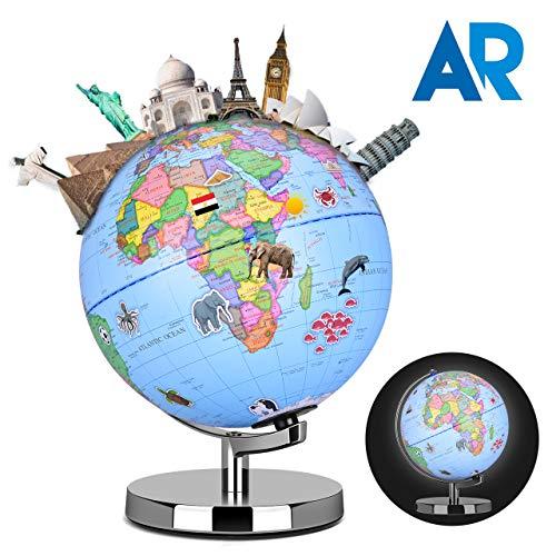 Smart Globe Augmented Reality