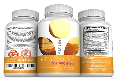 Restore Women Menopause Support Supplement