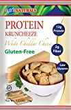 Kay's Naturals Protein Kruncheeze, White Cheddar Cheese, 1.2 ounces (Pack of 6)