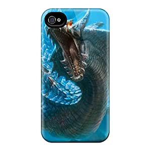 Great Cell-phone Hard Covers For Apple Iphone 6 With Allow Personal Design HD Monster Hunter Image LauraAdamicska