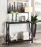 Convenience Concepts Oxford Console Table, Espresso For Sale