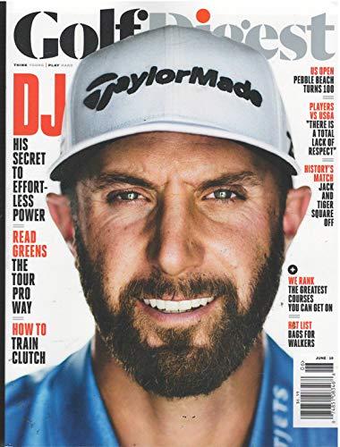 Golf Digest Magazine June 2019