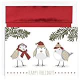 Best JAM Paper Friends Christmas - JAM Paper Christmas Card Set - Feathered Friends Review