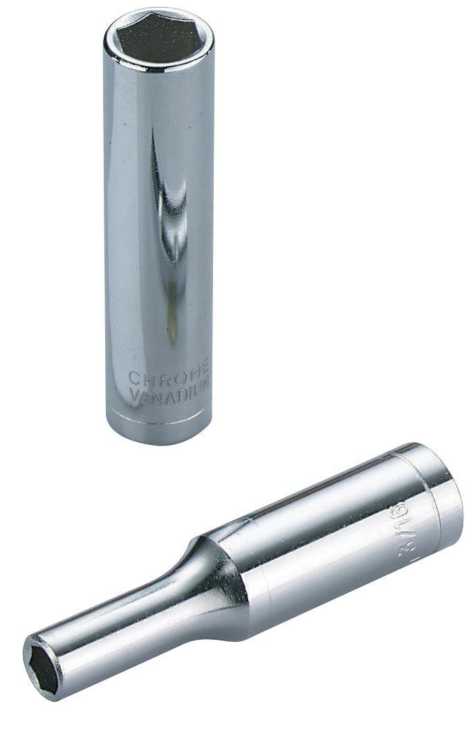 Sam Outillage RHL-11 Douille longue 1/4'' 11 mm