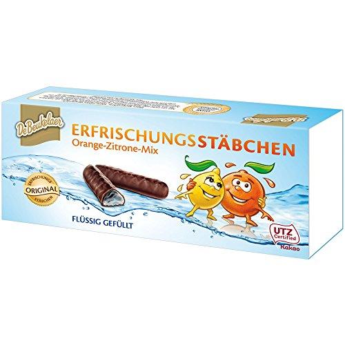 (De Beukelaer Orange and Lemon Jellies in Chcolate 2x75g/2x2.6oz 2-pack)