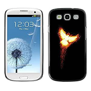 GagaDesign Phone Accessories: Hard Case Cover for Samsung Galaxy S3 - Flaming Phoenix 2