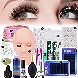 Best Eyelash Extension Kits - False Eyelashes Extension Practice Exercise Set, Professional Flat Review