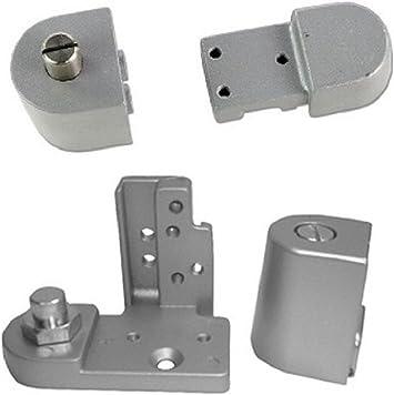 Pacific Doorware Kawneer Style Top Bottom Pivot Hinge Set For Commercial Adams Rite Type Storefront Door Choose Handing Finish Right Hand In Aluminum Amazon Com