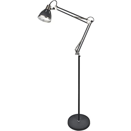 Glorious lite metal floor lamp adjustable floor lamp with on off glorious lite metal floor lampadjustable floor lamp with on off switcharchitect aloadofball Images