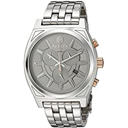 Nixon Men's 'Star Wars Phasma' Quartz Stainless Steel Casual Watch, Color:Silver-Toned (Model: A972SW2445-00)