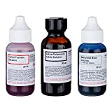 microscope slide solution - Economy Microscope Slide Staining Kit Includes 3 Stains
