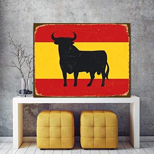 Zor345damilla Bandera España Bull Bull en Bandera Corrida Capital ...