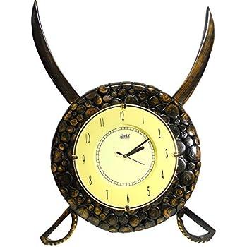 Amazon.com: Tuscany Grape Wine Decor Kitchen & Home Clock Wall Clock ...