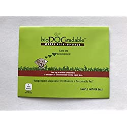 bioDOGradable Poop Bags Dog Waste Bags - Sample Packs (5 Pack (10 Bags))