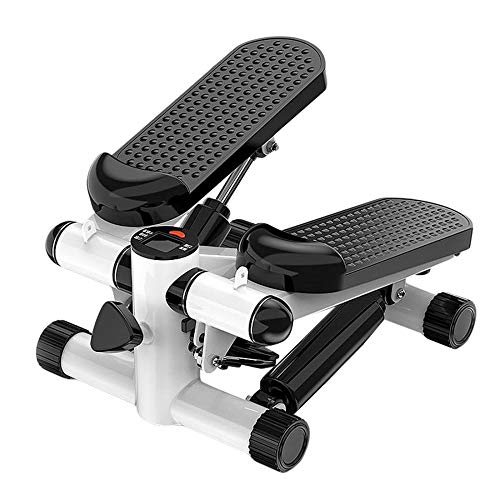 KALINU Mini Stepper, Stepping Machine Household Silent Twist Fitness Equipment with Resistance Bands, Suitable for…