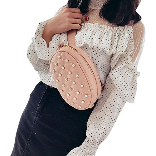 mujer Rosa Rosa Bolso para Zohong al hombro rosa 4qwFIq1aPx