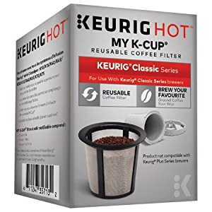Keurig Hot My K-Cup Reusable Coffee Filter Box