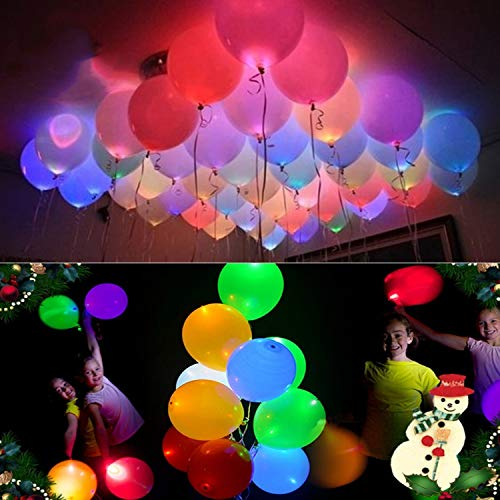 Light Up Balloons - 20 LED Light Up Balloons Mixed