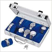 Uhrenkoffer Alu für 12 Uhren