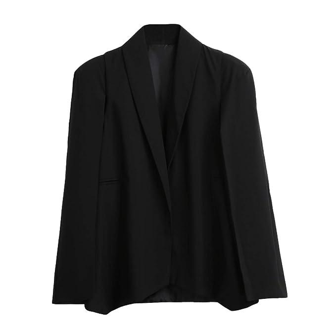 Amazon.com: Chaqueta para mujer Blazers chaquetas oficina ...