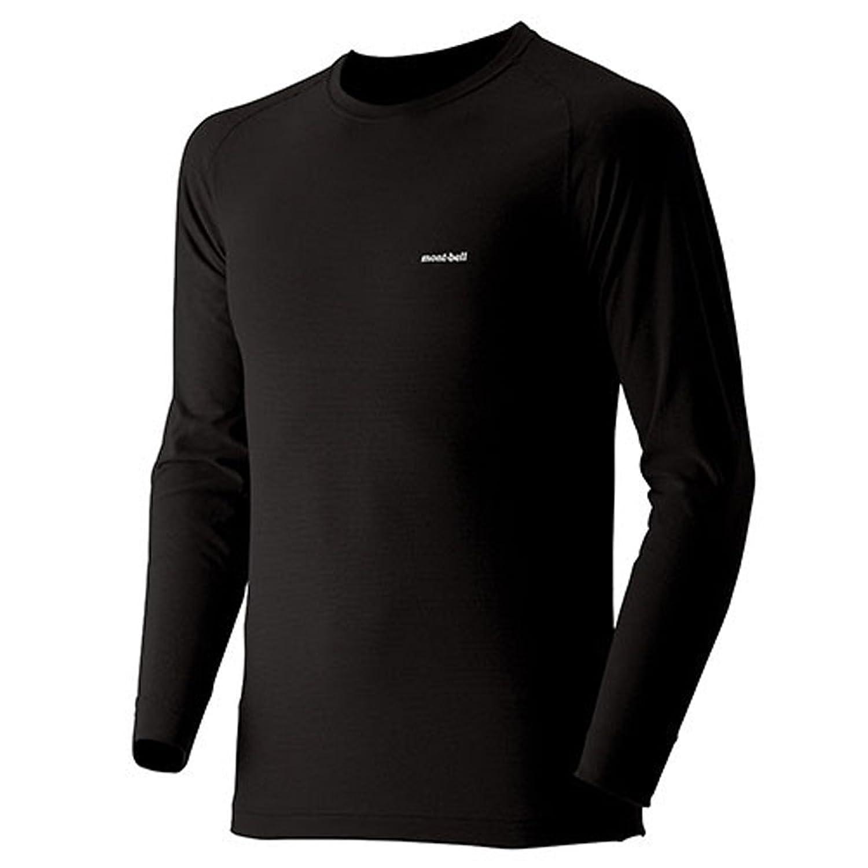 (モンベル)mont-bell ジオラインL.W.ラウンドネックシャツ Men