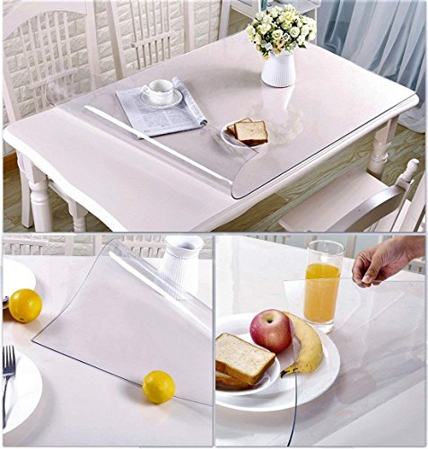 Table Protection Pad Cover Desk Top Wipeable Waterproof