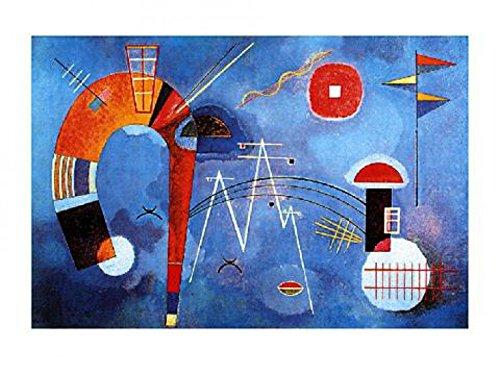 Posters: Wassily Kandinsky Poster Art Print - Curva E Spigoli
