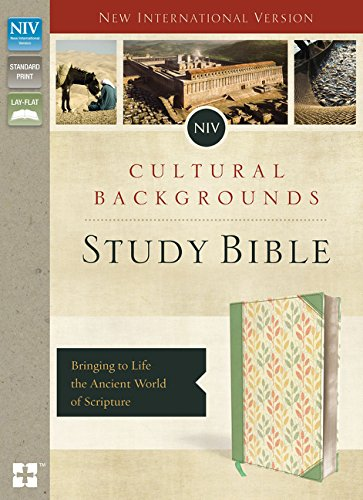 NIV, Cultural Backgrounds Study Bible, Leathersoft, Green, Red Letter Edition: Bringing to Life the Ancient World of Scripture ebook