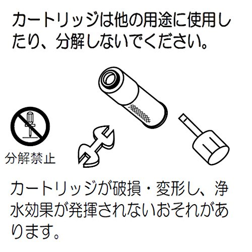 クリーンスリム浄水カートリッジ (3個入)【PZ968-3】
