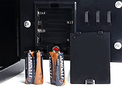 4 Batterien und 2 Schl/üssel Silbergrau Homdox Elektronischer Safe Tresor Minisafe Minitresor Wandtresor Stahlsafe M/öbeltresor Wandsafe mit digitalem Zahlenschloss 23 x 17 x 17 cm inkl