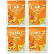 Peeled Snacks Organic Dried Fruit, Mango, 4 Count, 2.8 Ounce