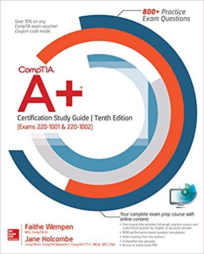 Amazon com: CompTIA A+ Certification Study Guide, Tenth