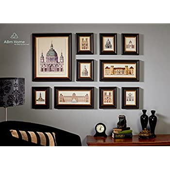 Amazon Multi Picture Photo Frame Set Wall Frame Set Large