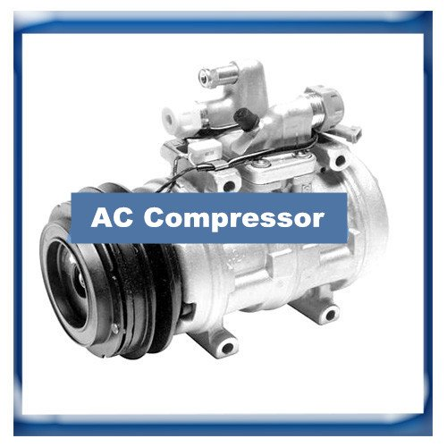 GOWE A/C Compressor for Denso 471-0258 10P17C A/C Compressor for Audi 80 90 Quattro 034260805B CO 0190RE