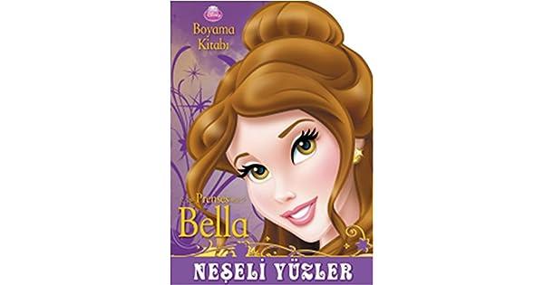 Disney Prenses Bella Boyama Kitabi Kolektif Amazon Com Tr