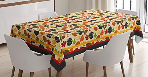 Tablecloth Table Cover Decor Family Christmas - 7