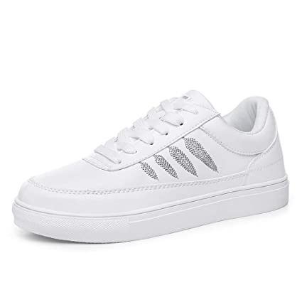 bcd0cceb7de89 Amazon.com: Hasag Four Seasons New Small White Shoes Women's Shoes ...