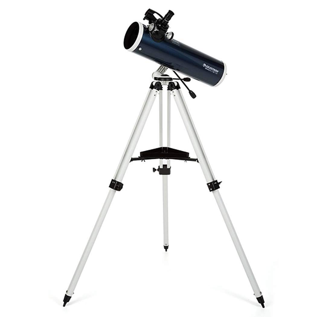 GGPUS Refractor Telescope with Tripod & Equatorial Mount, Portable Telescope for Astronomy Beginners, Travel Scope, Focal Length 650Mm, Maximum Magnification 307X by GGPUS
