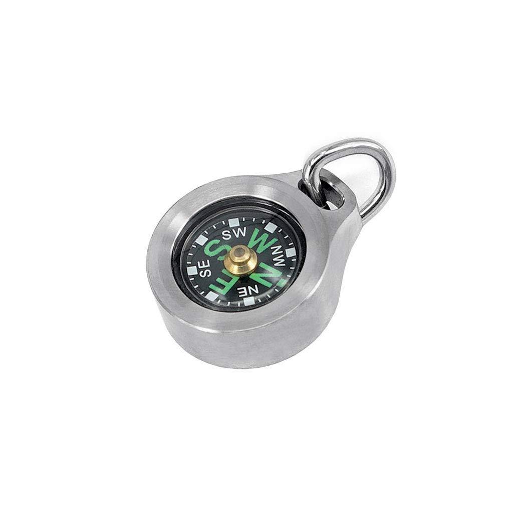 Kompass Leuchtende Navigation Solide Wasserdicht Und Shakeproof Perfekt Für Wandern Camping Klettern (Größe : Titanium Alloy)