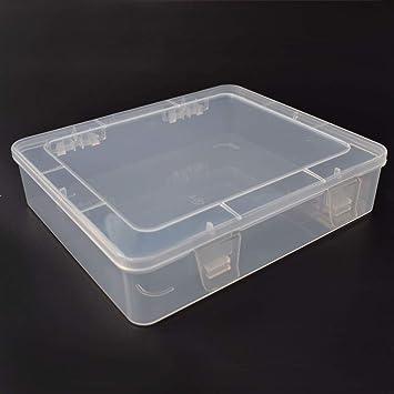 Caja de almacenamiento de herramientas para bricolaje, caja de herramientas electrónica de plástico resistente al agua, caja de herramientas transparente SMD SMT caja de herramientas: Amazon.es: Bricolaje y herramientas