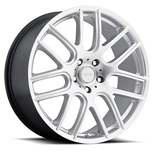 Vision 426 Cross Hyper Silver Wheel with Painted Finish (18x8