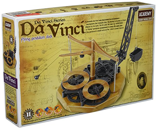 Da Vinci Series - ACADEMY Da Vinci Machines Series Flying Pendulum Clock - #18157