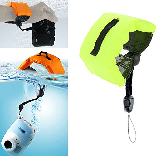 Liuzheng For Waterproof camera Submersible Floating Bobber Hand Wrist Strap for Gopro Hero GoPro NEW HERO HERO6 Session Session Xiaoyi and Other Action Cameras Dark Blue