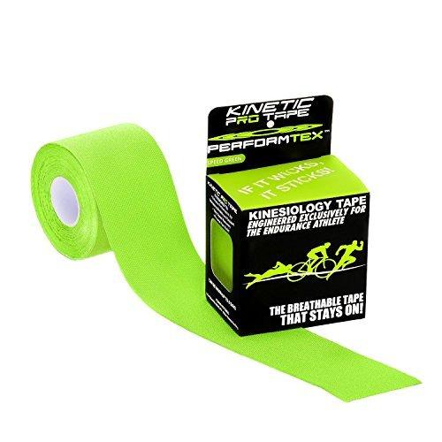 UPC 602310278584, PerformTex Kinetic Pro Kinesiology Tape - Speed Green - 5 Meter Roll