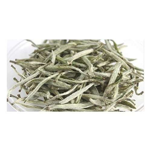 Premium Chinese Organic Bai Hao Yin Zhen Silver Needle White Leaf Tea - Direct Delivery From Fujjan China - Cholesterol Lowering Weight Loss Tea (500g (17.63 ounce)) by China Farm Products (Image #3)